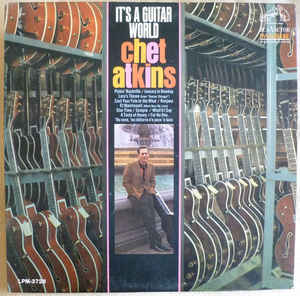 Chet Atkins ‎– It's A Guitar World- 19670 Jazz, op , Country (vinyl)