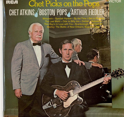 Chet Atkins / Boston Pops / Arthur Fiedler ‎– Chet Picks On The Pops-1969-Folk, World, & Country