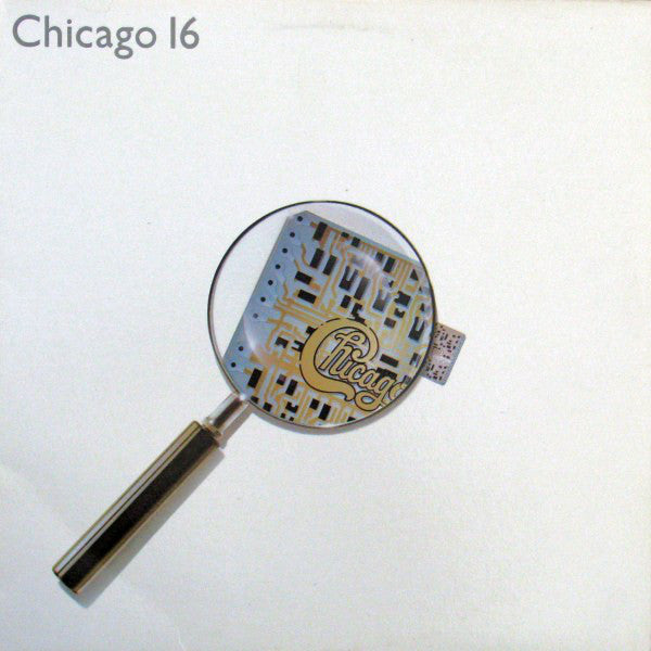 Chicago ‎– Chicago 16 -1982- Soft Rock, Pop Rock (vinyl)
