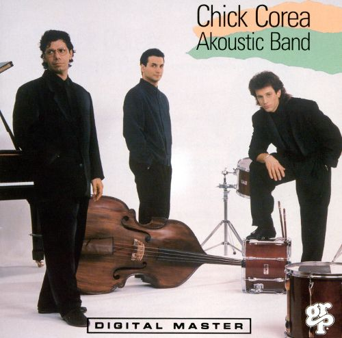 Chick Corea Akoustic Band ‎– Chick Corea Akoustic Band- 1989 - Jazz - (vinyl)
