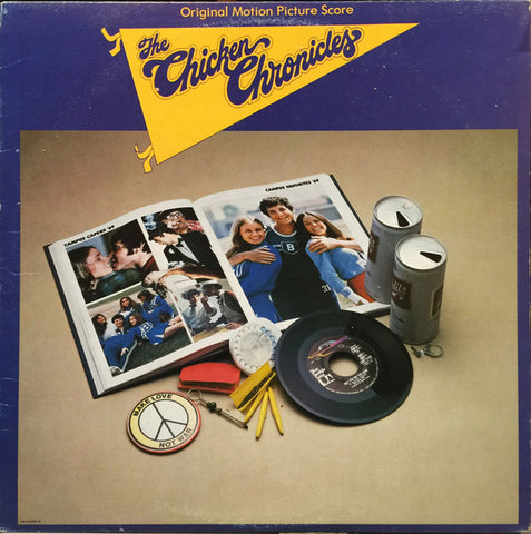 The Chicken Chronicles Soundtrack - 1977- Jazz, Rock, Funk / Soul, Stage & Screen ,Rhythm & Blues, Funk, Soundtrack, Prog Rock (Vinyl)