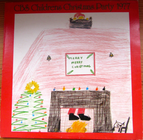 CBS Childrens Christmas Party 1977 - Rare Christmas Vinyl