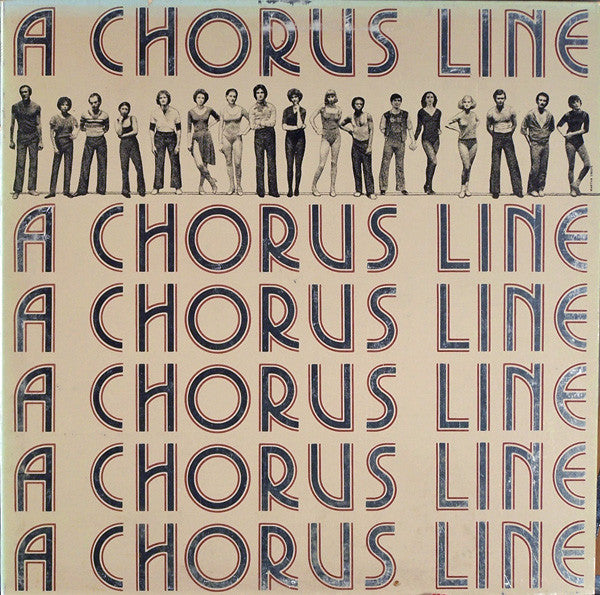 Chorus Line - Original Cast Recording-1975-  Musical, Swing (vinyl)