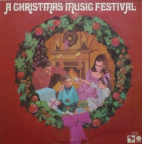 A Christmas Music Festival - Dean,Bing,Lou Rawls -1970 -Pop, Folk, & Country ,Country, Christmas (vinyl)