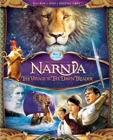 Chronicles Of Narnia Voyage Of The Dawn Treader [Blu-ray] [Blu-ray] (2011) Mint used