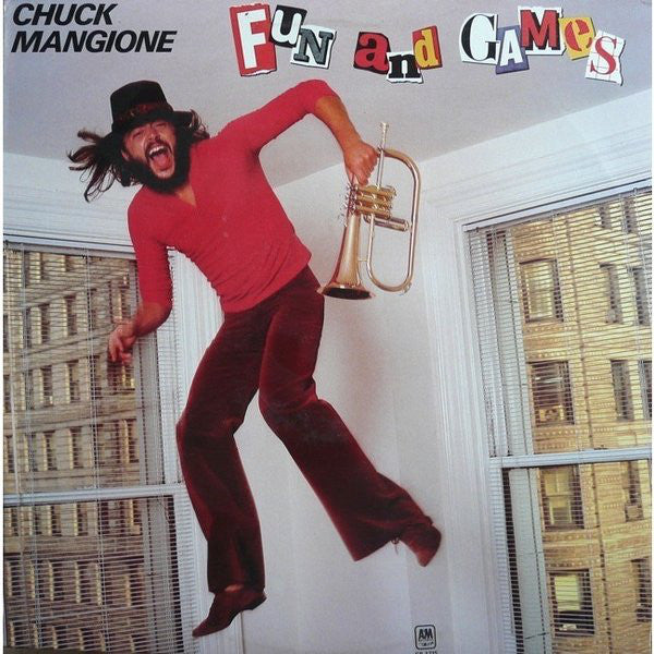Chuck Mangione ‎– Fun And Games - 1980- Easy Listening Jazz (vinyl)