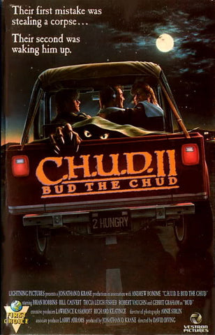 Chud 2: Bud The Chud [Import anglais] Pal Format DVD
