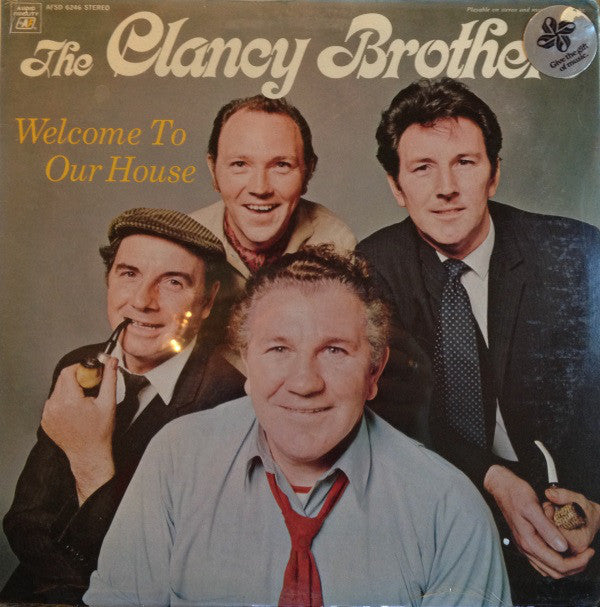 Clancy Brothers ,The ‎– Welcome To Our House -1970 - Celtic Folk (Rare Vinyl)