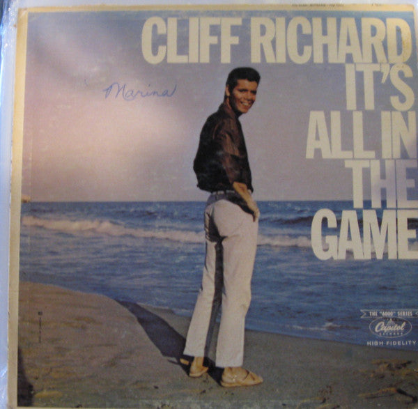 "Cliff Richard ‎– It's All In The Game - 1964-The ""6000"" Series - Rock, Pop (Rare Vinyl)"