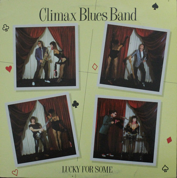 Climax Blues Band ‎– Lucky For Some - 1981- Pop Rock (vinyl)