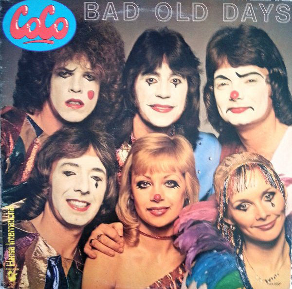 Coco ‎– Bad Old Days - 1978- Europop, Pop Rock (vinyl)