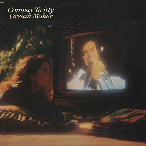 Conway Twitty ‎– Dream Maker - 1982-Folk, World, & Country Style: Country, Honky Tonk (vinyl)
