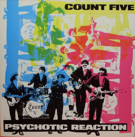 Count Five ‎– Psychotic Reaction - 1987-Rock ,Garage Rock, Psychedelic Rock ( Rare  Vinyl )