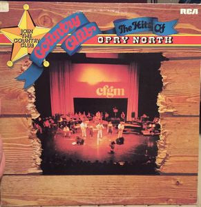 Country Club Hits Of The Opry North - Ronnie Prophet, Carroll Baker 1978 (vinyl)