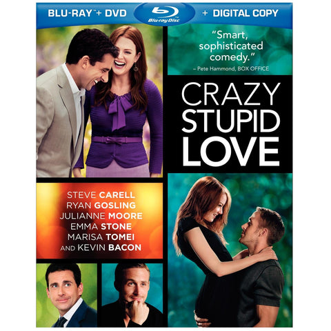 Crazy Stupid Love - (Bilingual) [Blu-ray] Steve Carrell , Ryan Gosling-  Used Mint