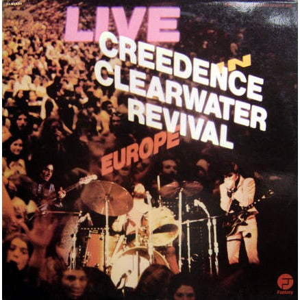 Creedence Clearwater Revival - Live In Europe - ( 2 lps ) 1973  Pop Rock, Classic Rock (Clearance Vinyl)