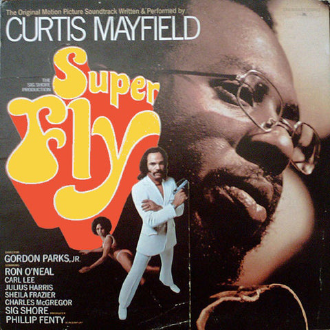 Curtis Mayfield ‎– Super Fly 1972- Soundtrack, Funk, Soul (vinyl)