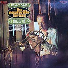 Danny Davis And The Nashville Brass ‎– Movin' On -1969-Contemporary Jazz (Vinyl)