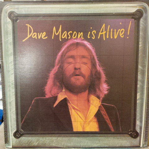 Dave Mason ‎– Dave Mason Is Alive -1973- Folk Rock (vinyl)