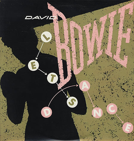 "David Bowie ‎– Let's Dance !2 "" Single (Pop Rock, Synth-pop) (vinyl)"