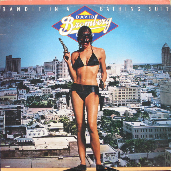 David Bromberg Band ‎– Bandit In A Bathing Suit - Jazz, Rock, Blues,  Louisiana Blues (vinyl)