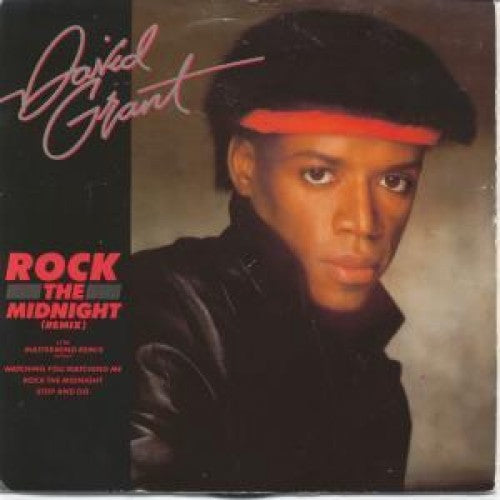 "David Grant ‎– Rock The Midnight -1983-Electronic, Funk / Soul (vinyl) 12"", 33 ⅓ RPM"
