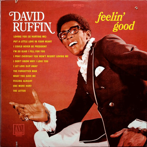 David Ruffin ‎– Feelin' Good - 1969-Funk / Soul (vinyl)