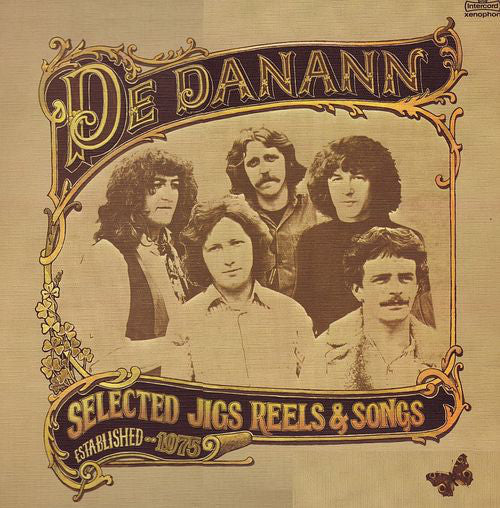 De Danann ‎– Selected Jigs Reels & Songs -1978- Rare Celtic Vinyl
