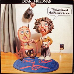 "Dean Friedman ‎– ""Well, Well,"" Said The Rocking Chair - Rare 1978 Rock (vinyl)"