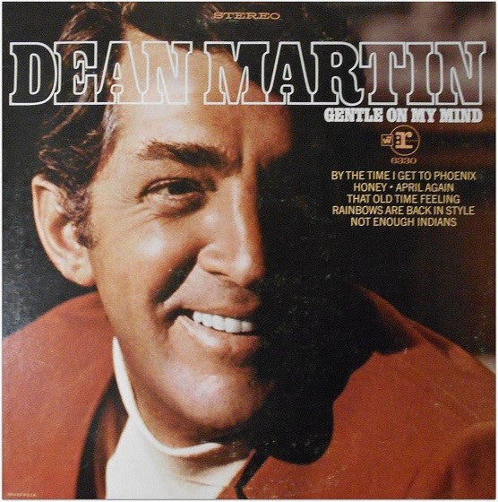 Dean Martin ‎– Gentle On My Mind - 1968 - Pop Vocal (vinyl)