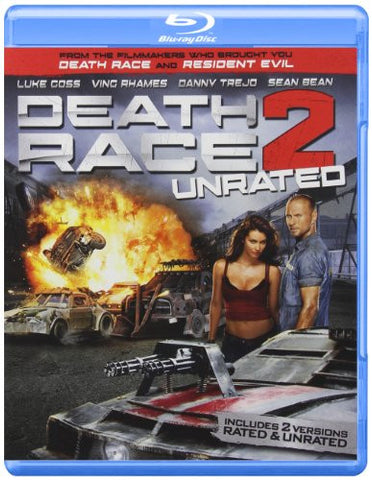 Death Race 2 (Unrated) Blu-ray + DVD - Mint Used