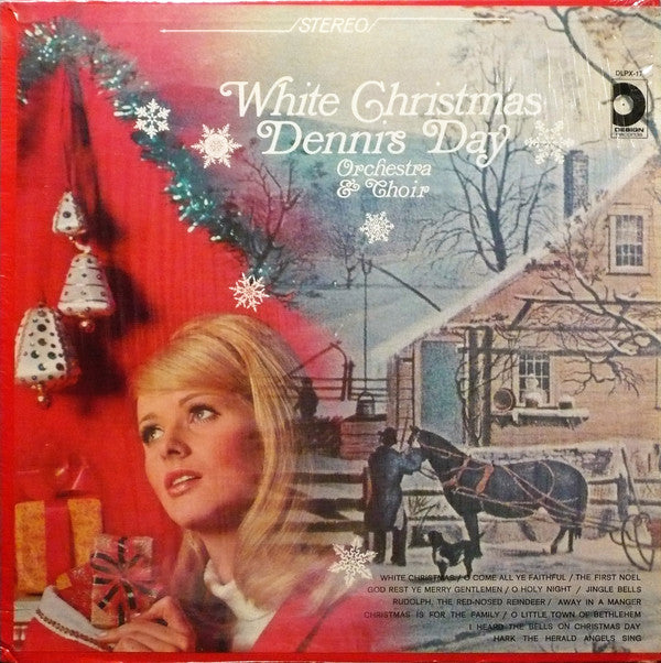 Dennis Day ‎– White Christmas -1965- pop Vocal, Christmas (vinyl)