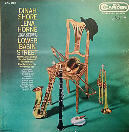 Dinah Shore, Lena Horne – NBC's Chamber Music Society Of Lower Basin Street-Dixieland jazz lp