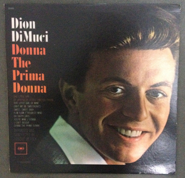 Dion DiMuci (Dion & The Belmonts fame) ‎– Donna The Prima Donna -1979-  Rock & Roll (Clearance Vinyl)