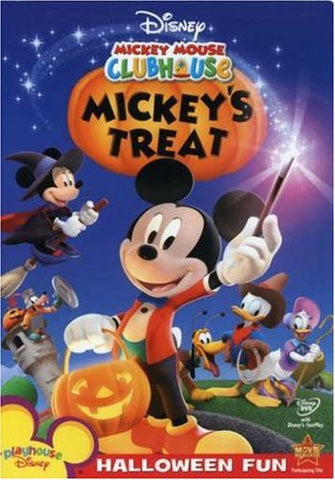 Disney Mickey Mouse Clubhouse: Mickey's Treat dvd - mint used