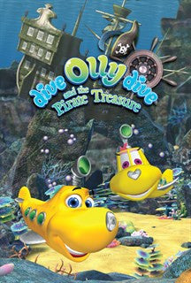 Dive Olly Dive and the Pirate Treasure DVD - New Sealed