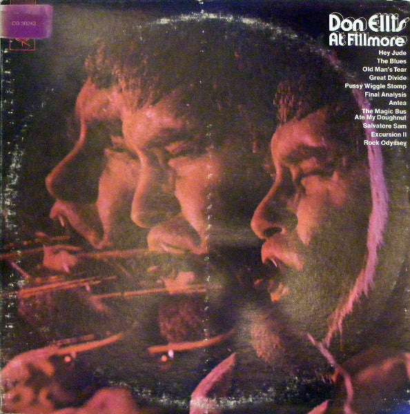 Don Ellis ‎– Don Ellis At Fillmore -1970 - 2 lps -  Contemporary Jazz (vinyl)