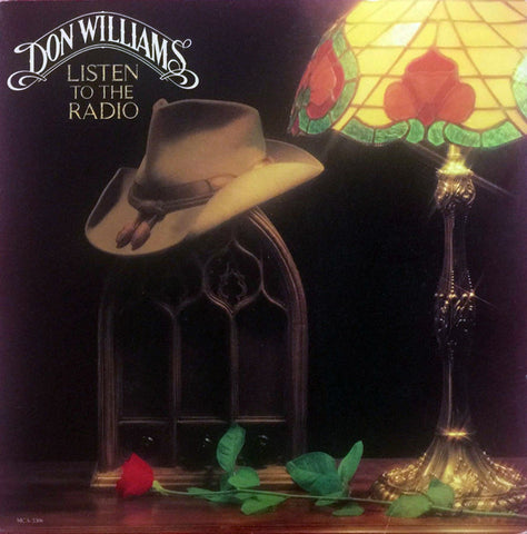 Don Williams  Listen To The Radio - 1982-Folk, World, & Country (vinyl)