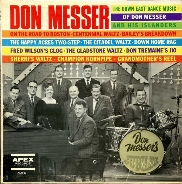 Don Messer ‎– The Down East Dance Music Of Don Messer & His Islanders - 1960? Maritime (Sealed Vinyl)