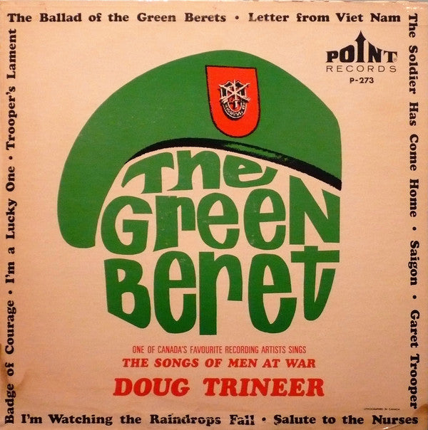 Dougal Trineer ‎– The Green Beret - 1967-  Brass & Military (rare vinyl)