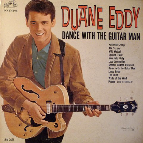 Duane Eddy ‎– Dance With The Guitar Man -1962-  Rock (vinyl)