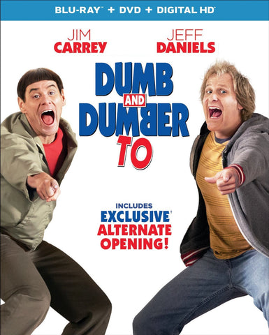 Dumb and Dumber To - Blu-ray + DVD New Sealed