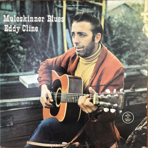 Eddy Cline ‎– Muleskinner Blues -1970 -Folk, World, & Country (Rare Vinyl)