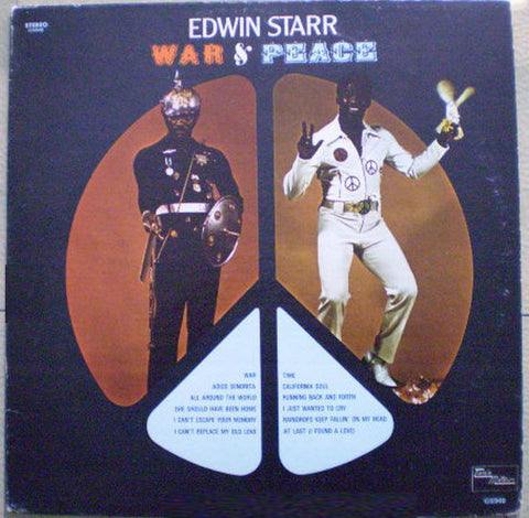 Edwin Starr ‎– War And Peace - 1970-Funk / Soul (vinyl)