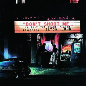 Elton John ‎– Don't Shoot Me I'm Only The Piano Player -1973- Pop Rock, Classic Rock (clearance vinyl) wear and marks