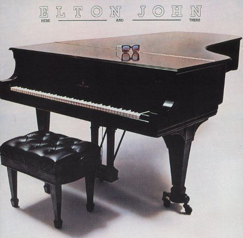 Elton John ‎– Here And There - 1976 - Pop Rock, Classic Rock ( Vinyl )