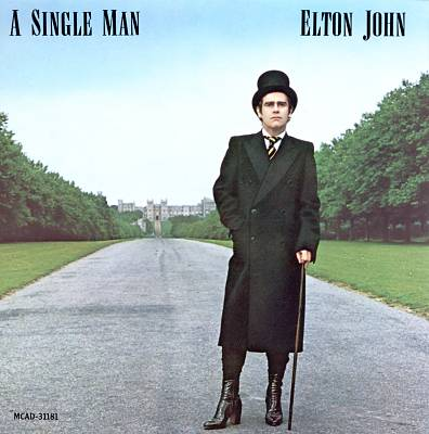 Elton John ‎– A Single Man -1978 Classic Rock ( Clearance Vinyl )