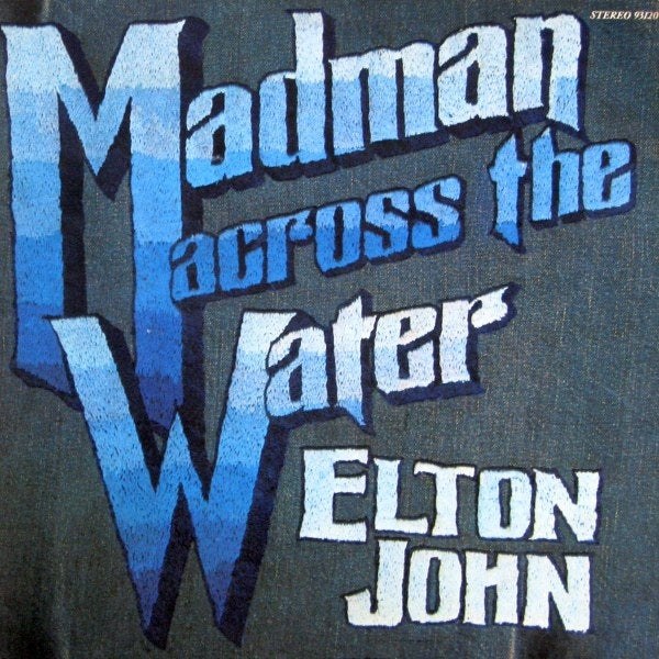 Elton John ‎– Madman Across The Water - 1971 Classic Rock (vinyl)