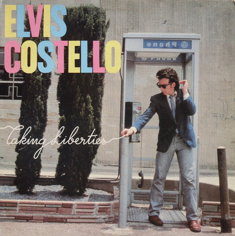 Elvis Costello ‎– Taking Liberties -1980- New Wave, Rock & Roll (vinyl)