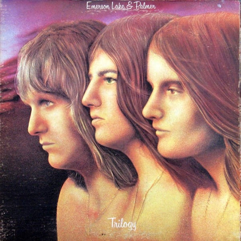 Emerson, Lake & Palmer ‎– Trilogy 1972 Prog Rock (vinyl)